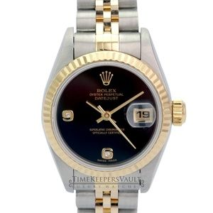 Rolex Lady Datejust Factory Diamond Dial 26mm